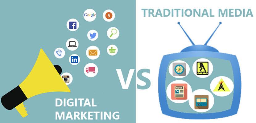 Digital Marketing V/S Traditional Marketing
